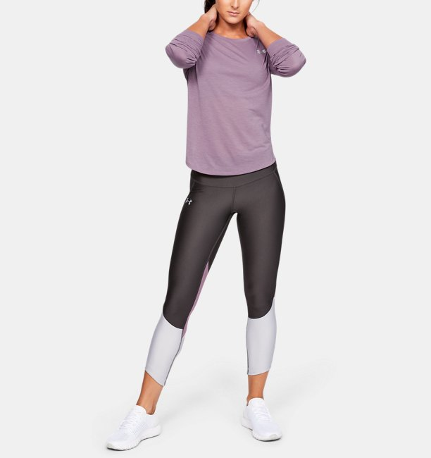 Womens UA Streaker Long Sleeve