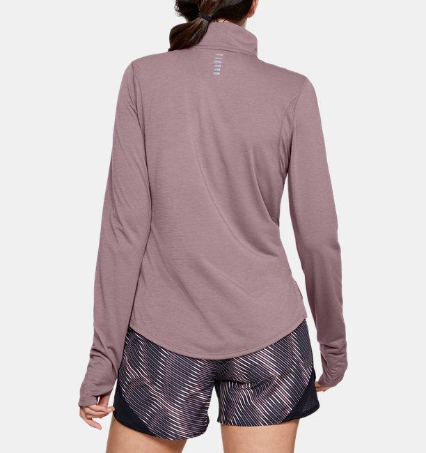 Damen-Shirt UA Streaker mit ½-Zip