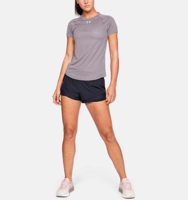 Camiseta de Corrida Manga Curta Feminina Under Armour PaceSetter