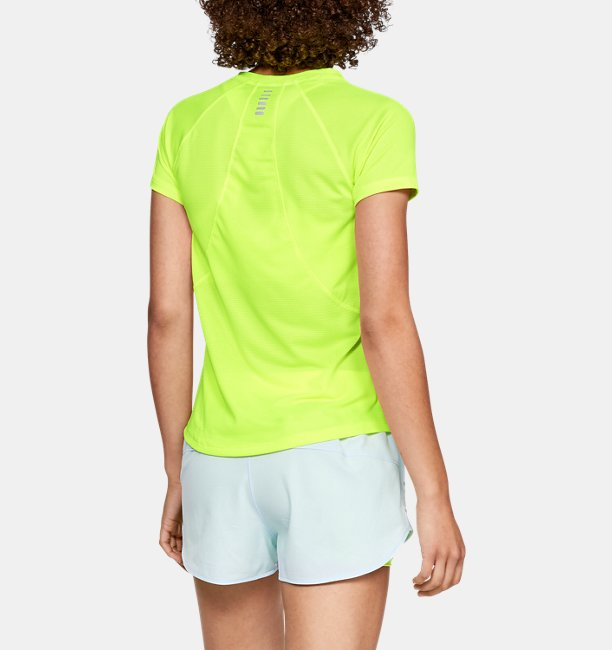 Womens UA Qualifier HexDelta Short Sleeve
