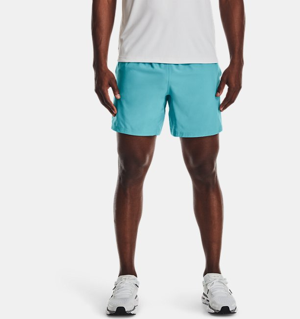 Mens UA Speed Stride Solid 7 Shorts