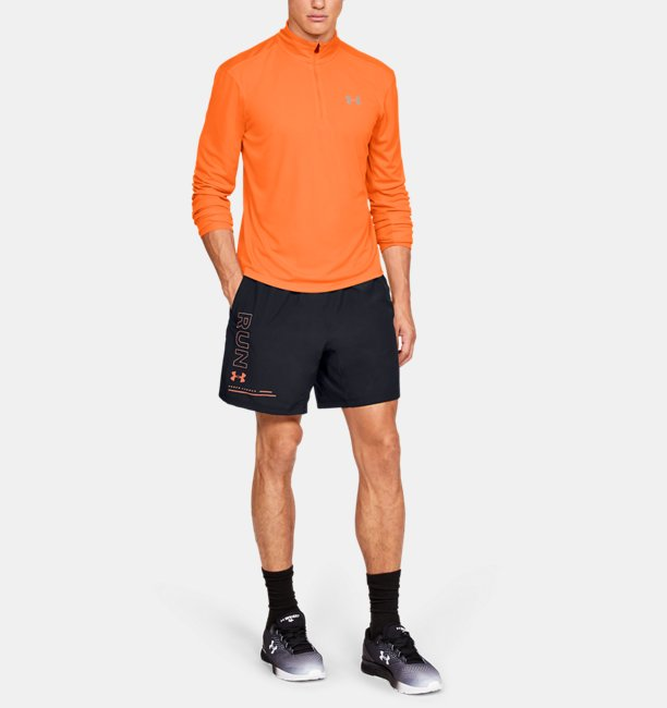 Mens UA Speed Stride 7 Branded Shorts