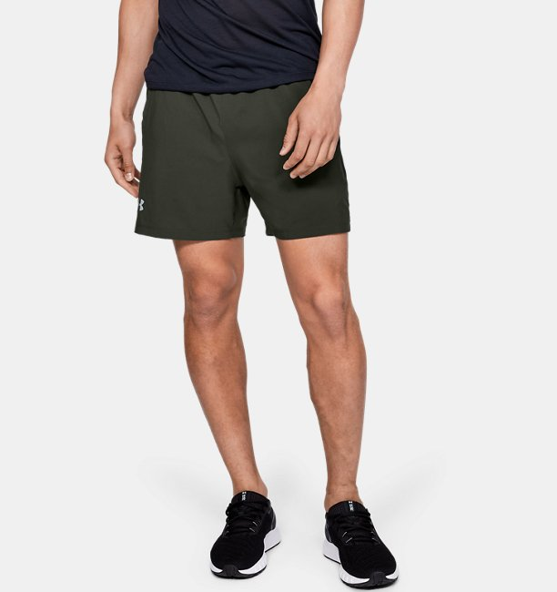 Mens UA Launch SW 5 Shorts
