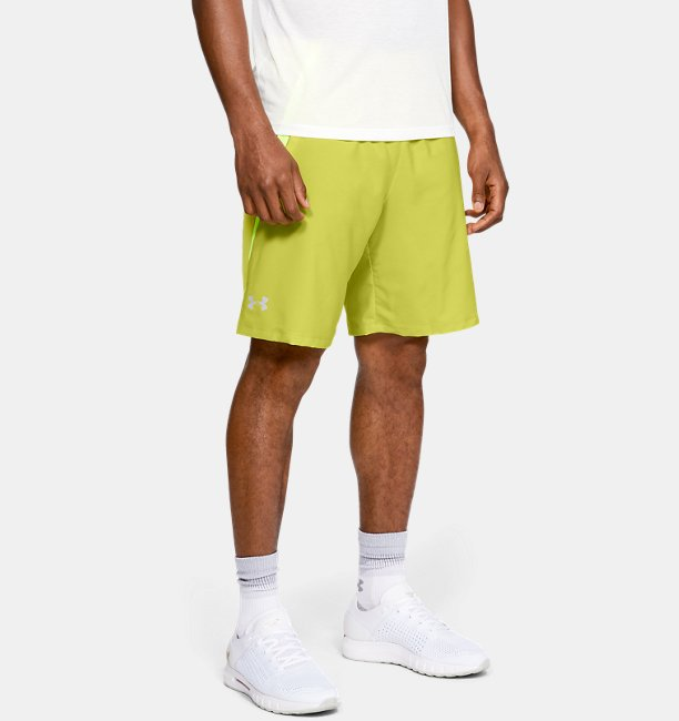 Mens UA Launch SW 9 Shorts