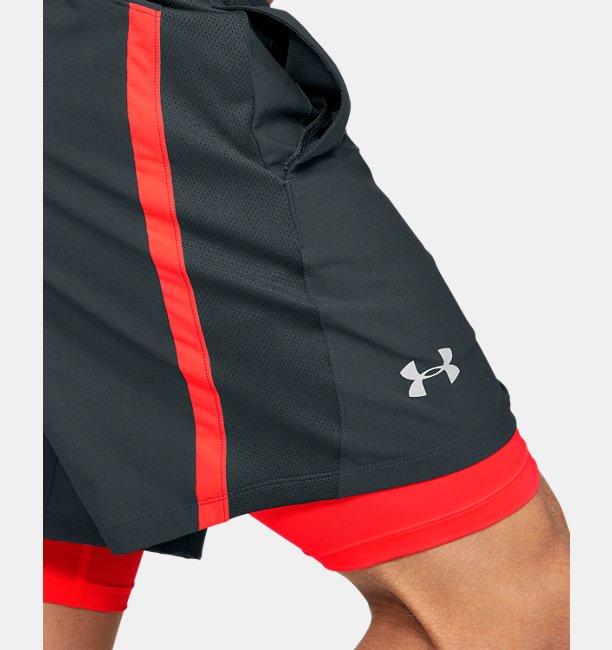 Shorts UA Launch SW 2-in-1 para Hombre
