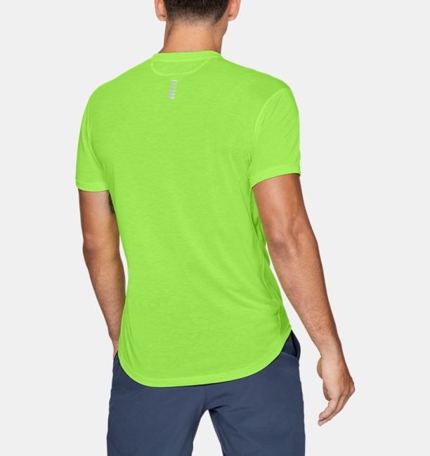 Mens UA Streaker Short Sleeve
