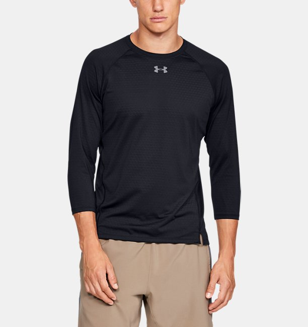 Mens UA Qualifier HexDelta ¾  Sleeve