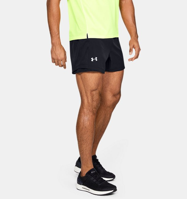 Shorts UA Qualifier Speedpocket 5 para Hombre