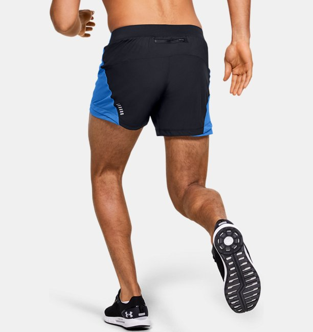 Mens UA Qualifier Speedpocket 13 cm Shorts