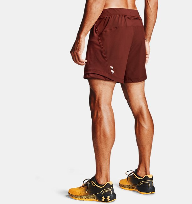 Mens UA Qualifier Speedpocket 18 cm Shorts