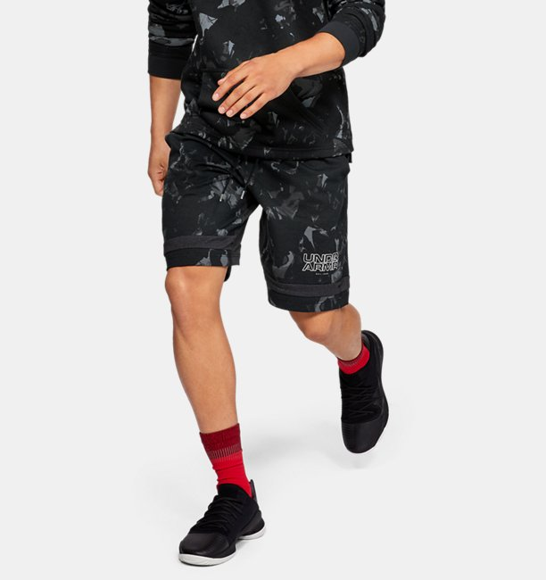 Mens UA Baseline Jersey Shorts