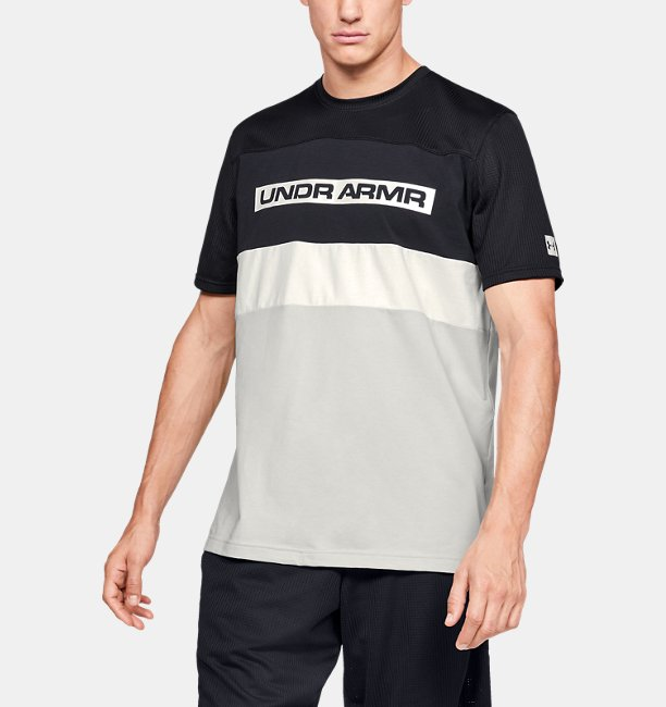 Camiseta de Manga Curta UA Pursuit Masculina