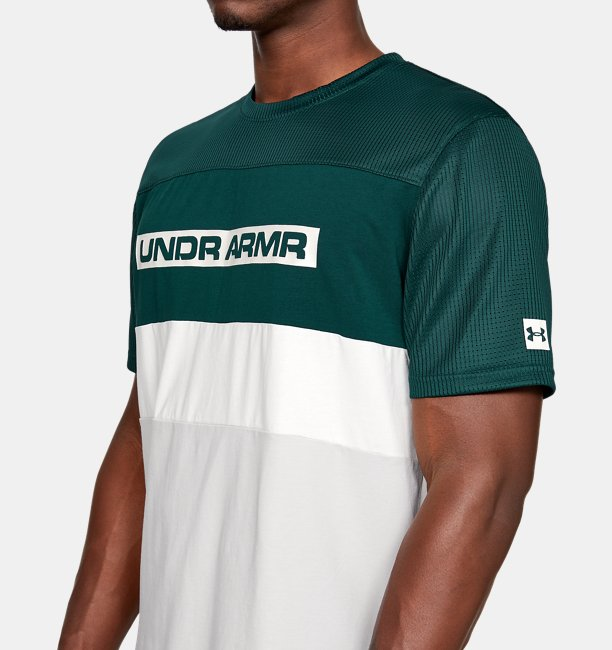 Camiseta de Manga Curta UA Pursuit Masculina