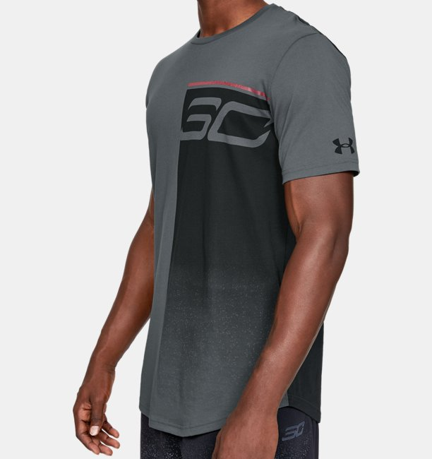 Heren T-shirt SC30 Logo Fade Away