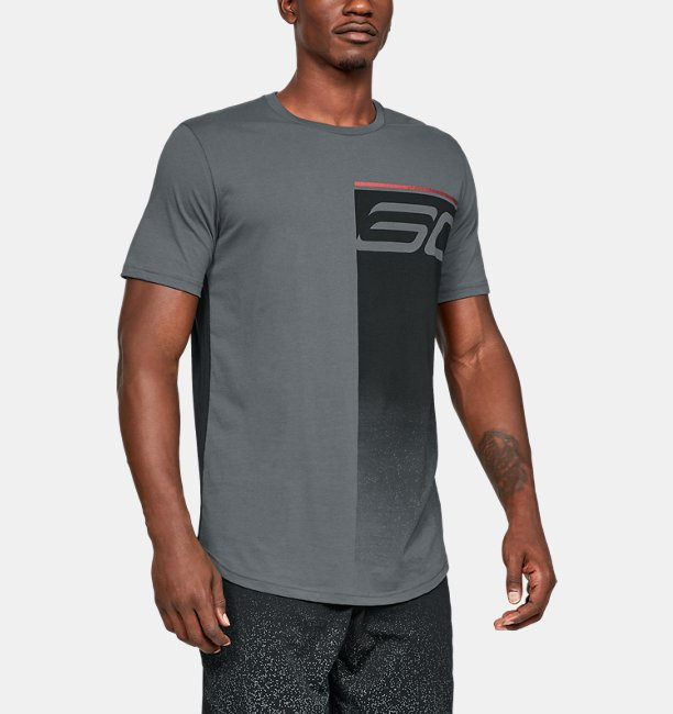 Mens SC30 Logo Fade Away T-Shirt