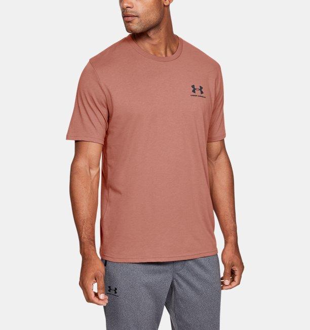 Heren T-shirt UA Sportstyle Left Chest Logo