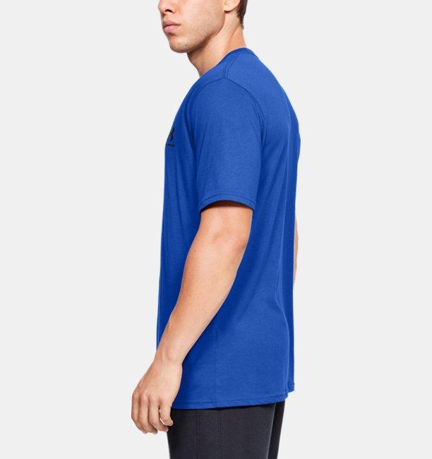 Mens UA Sportstyle Left Chest Short Sleeve Shirt