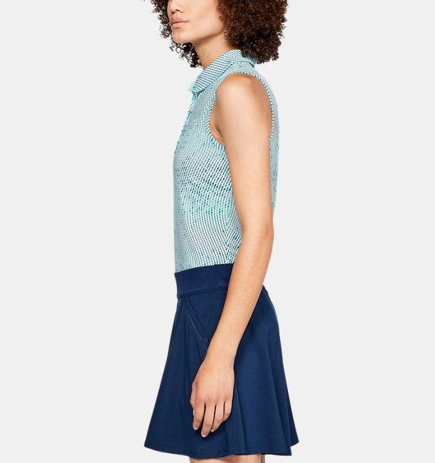 Damen UA Zinger Novelty Poloshirt, ärmellos