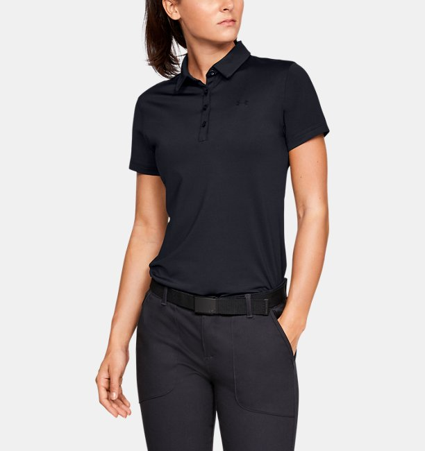 Womens UA Zinger Short Sleeve Polo