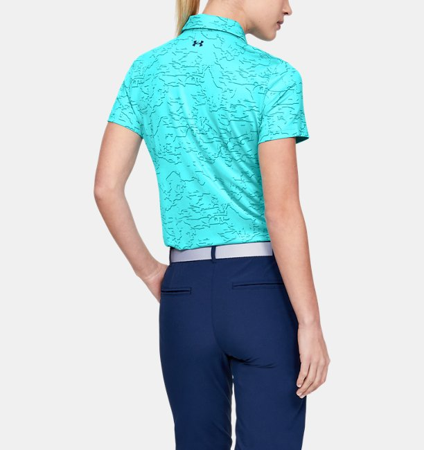 Womens UA Zinger Short Sleeve Novelty Polo