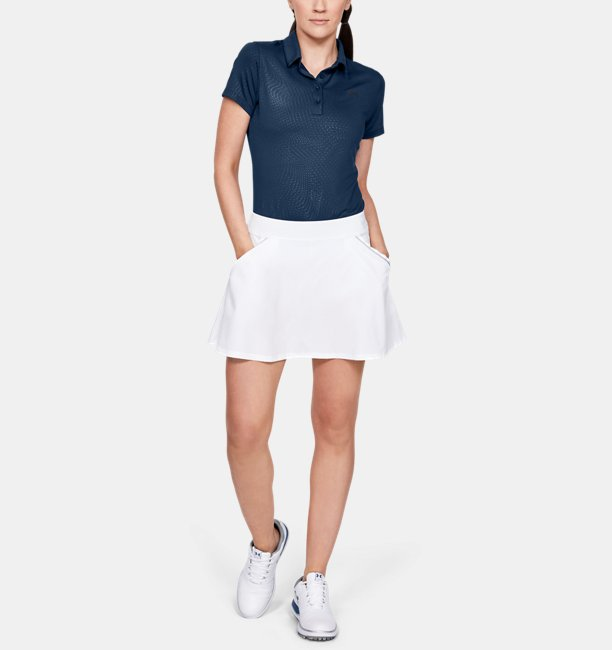 Womens UA Zinger Short Sleeve Novelty Polo