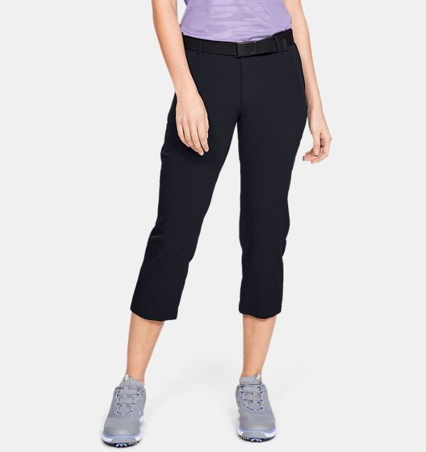 Damen UA Links Capri-Leggings