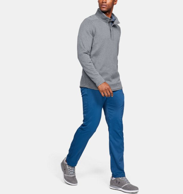 Haut à col cheminée boutonné UA Storm SweaterFleece Crestable pour homme