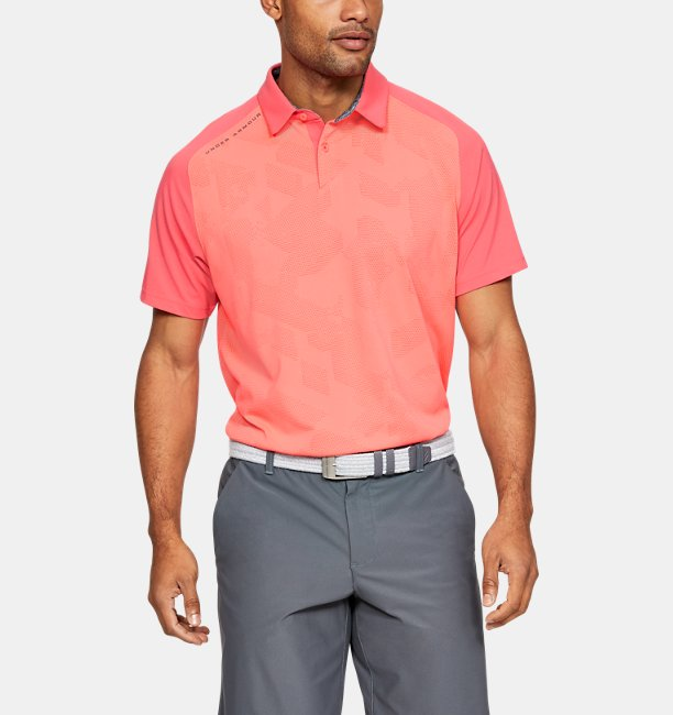 Mens UA Vanish Champion Polo