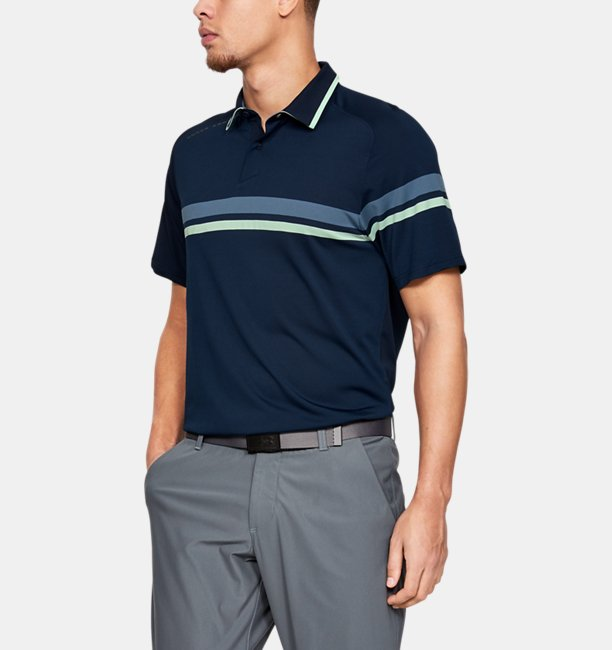 Men's UA Microthread Drive Polo