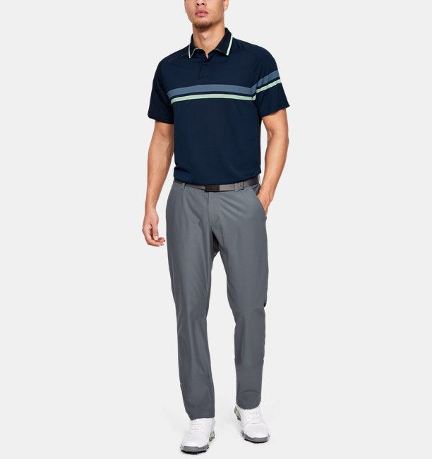 Mens UA Microthread Drive Polo