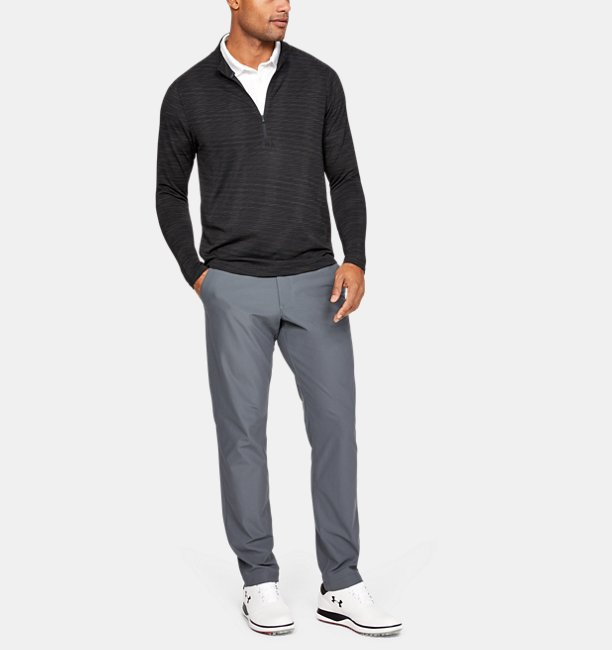 Mens UA Seamless ½ Zip