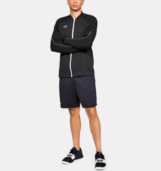 Mens UA Knit Warm-Up Jacket