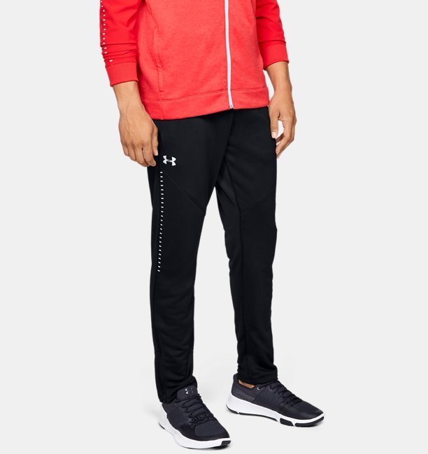 Mens UA Knit Warm-Up Pants