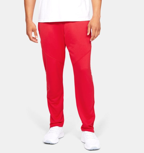 Mens UA Knit Warm-Up Pants