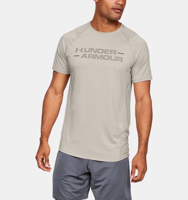 Mens UA MK-1 Wordmark Short Sleeve Shirt