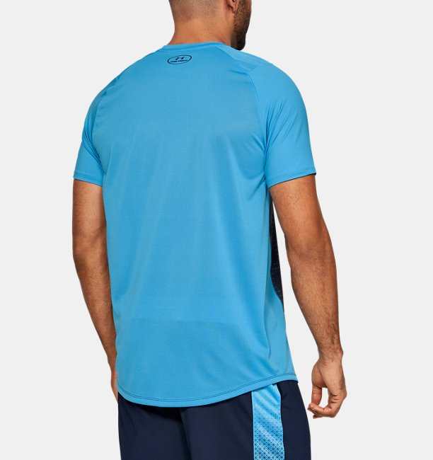 Mens UA MK-1 Short Sleeve Colorblock