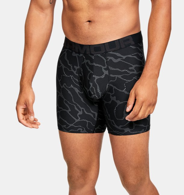 Mens UA Tech™ 6 Boxerjock® Printed – 2-Pack
