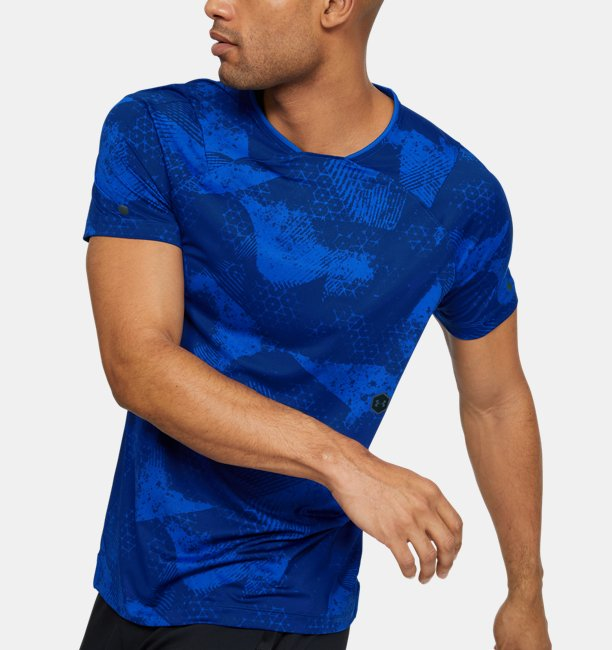 Mens UA RUSH Short Sleeve