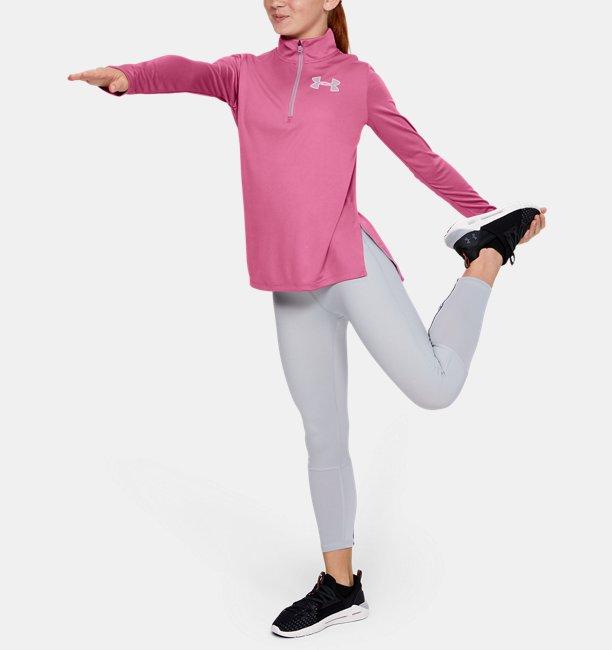 Sudadera con cremallera de ½ UA Tech™ para niña