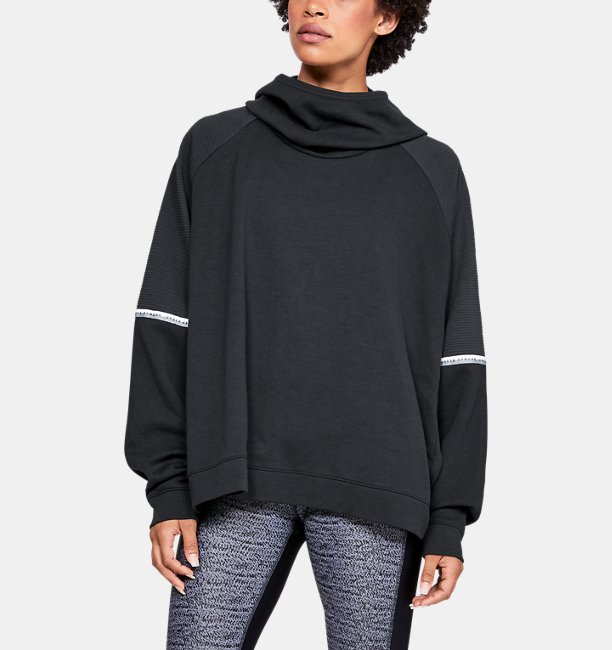 Womens UA Unstoppable Double Knit Oversize Hoodie