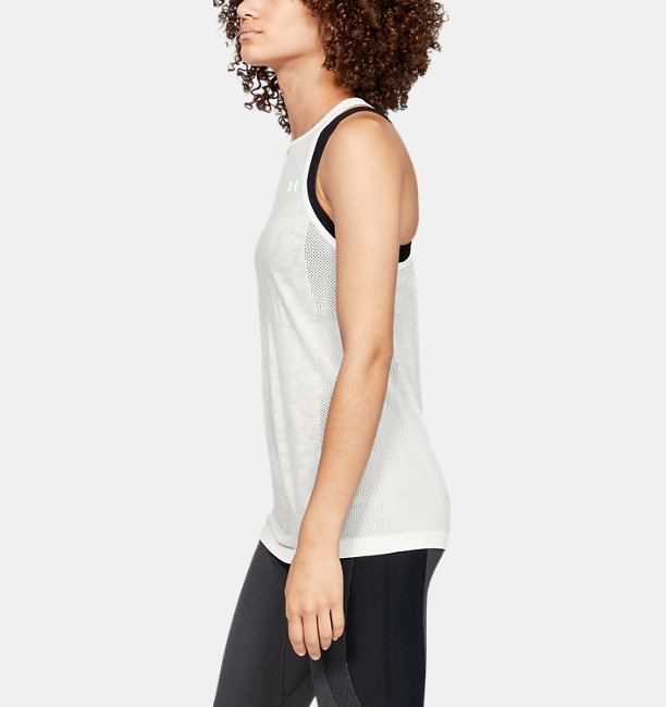 Womens UA Vanish Seamless Mesh Tank