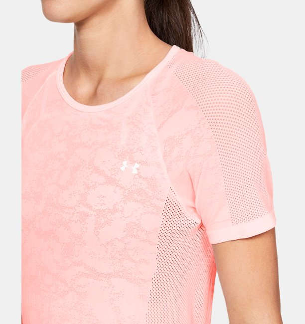Womens UA Vanish Seamless Mesh Short Sleeve