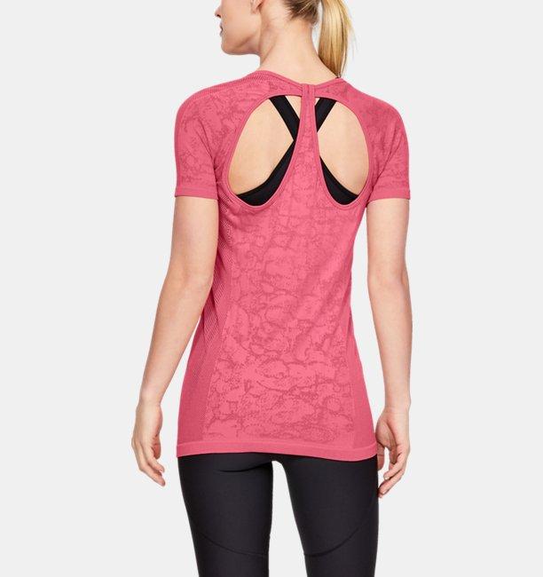 Womens UA Vanish Seamless Mesh Short Sleeve