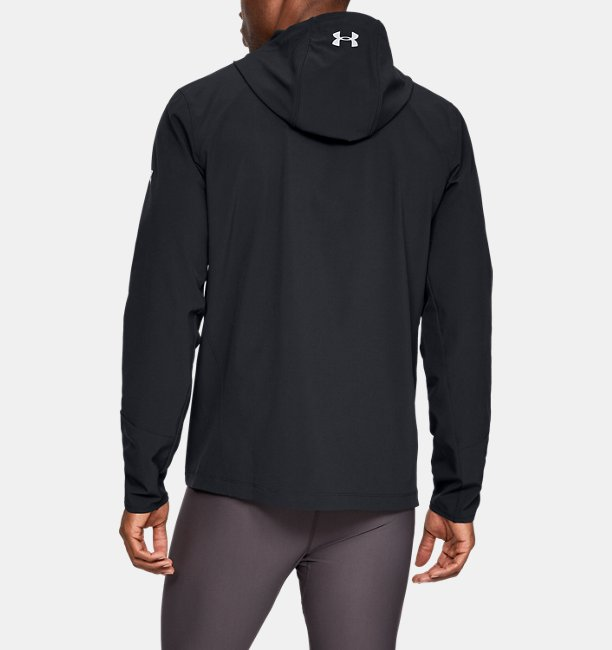 Mens UA Outrun The Storm Reflective Jacket