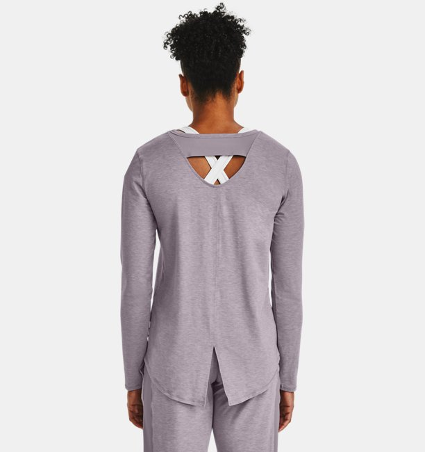 Womens UA RECOVER™ Sleepwear Long Sleeve Shirt