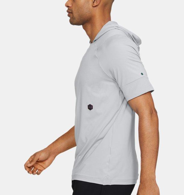 Mens UA RUSH™ Short Sleeve Hoodie