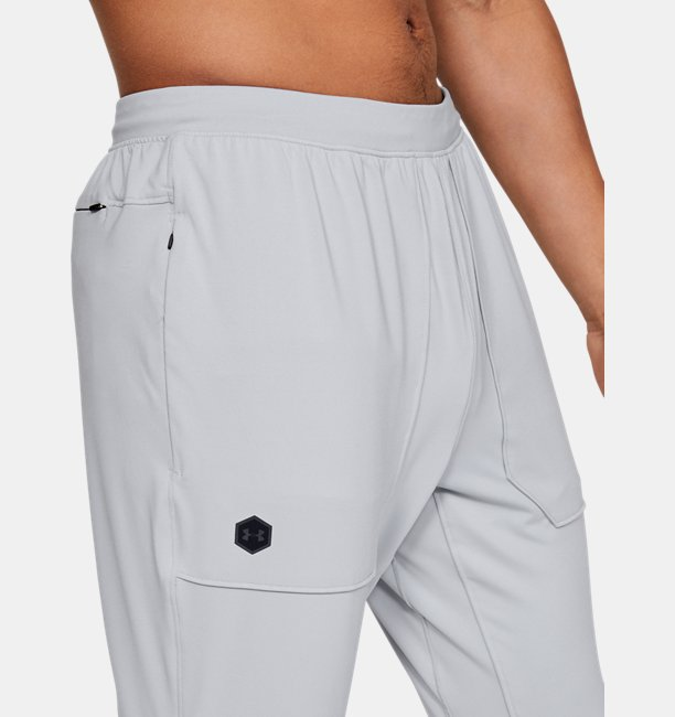 Mens UA RUSH Fitted Trousers