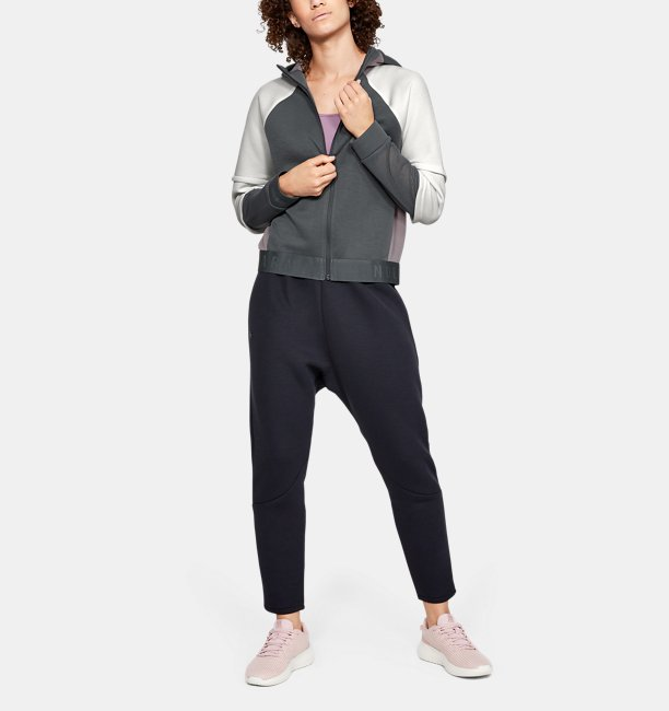 Womens UA Unstoppable Move Light Full-Zip Hoodie