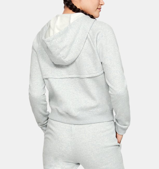 Womens UA Rival Fleece Full Zip