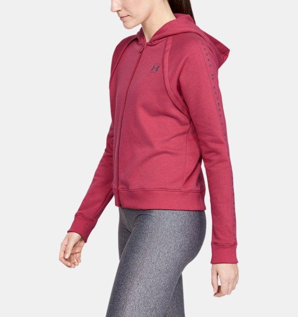 Womens UA Rival Fleece Full Zip